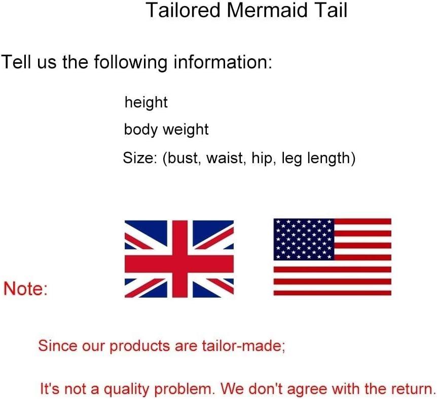 RKRZLB Mermaid Tail For Girls,swimsuit Mermaid Tail For Girls,Mermaid Tail For Swimmin Bikini Swimsuit Set swimsuit mermaid tail for girls Style S