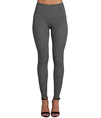 26de4582f58 SPANX Women s Look at Me Now Seamless Leggings Charcoal Heather X-Large 24  at Amazon Women s Clothing store