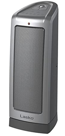 Lasko Electronic Ceramic Tower Heater w Oscillation, Electronic Thermostat