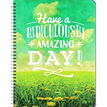 Orange Circle Studio 17-Month 2017 Large Flexi Planner, Have A Ridiculously Amazing Day! (32625)