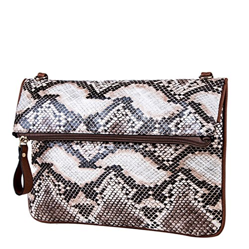 YYW Evening Bag - Cartera de mano para mujer multicolor