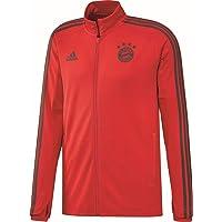 adidas Voetbal FC Bayern München trainingsjack FCB jack rood grijs