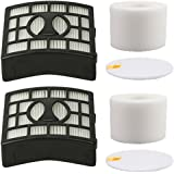 Amyehouse 2Pack Foam & Felt Filter Replacement Kit for Shark Rotator Powered Lift-Away Speed Vacuum NV683 NV682 NV681 NV680 N