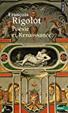 Poésie et Renaissance