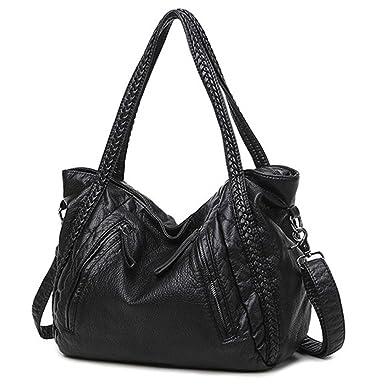 8a35cf154754 Amazon.com  Women Handbags Ladies Crossbody Bags For Women Shoulder Bags  Female Big Tote Sac A Main Famous Brand  Clothing