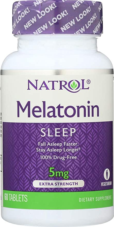 Natrol (NOT A CASE) Melatonin 5 mg, 60 Tablets