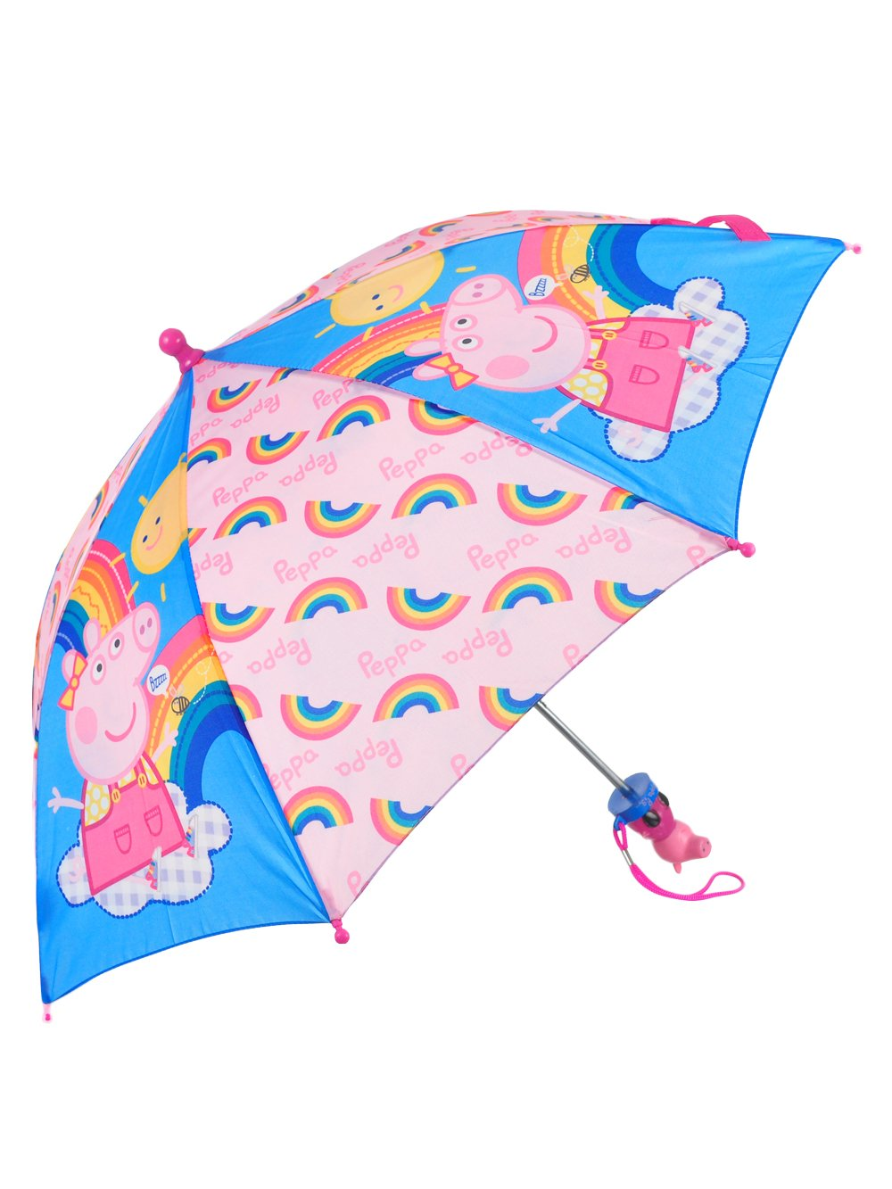 Peppa Pig Stick Umbrella For Girls , One Size