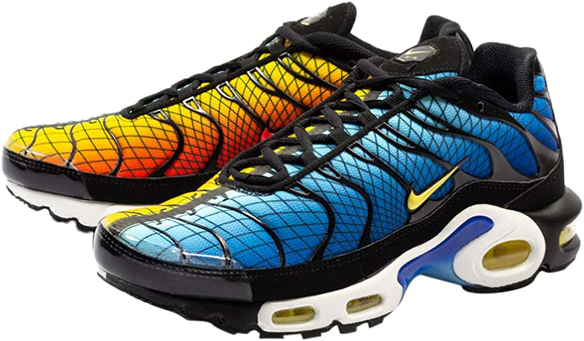 Nike Air Max Plus Tn Se Greedy para hombre, (Black/Chile Red-tour Yellow), 41.5 EU: Amazon.es: Zapatos y complementos