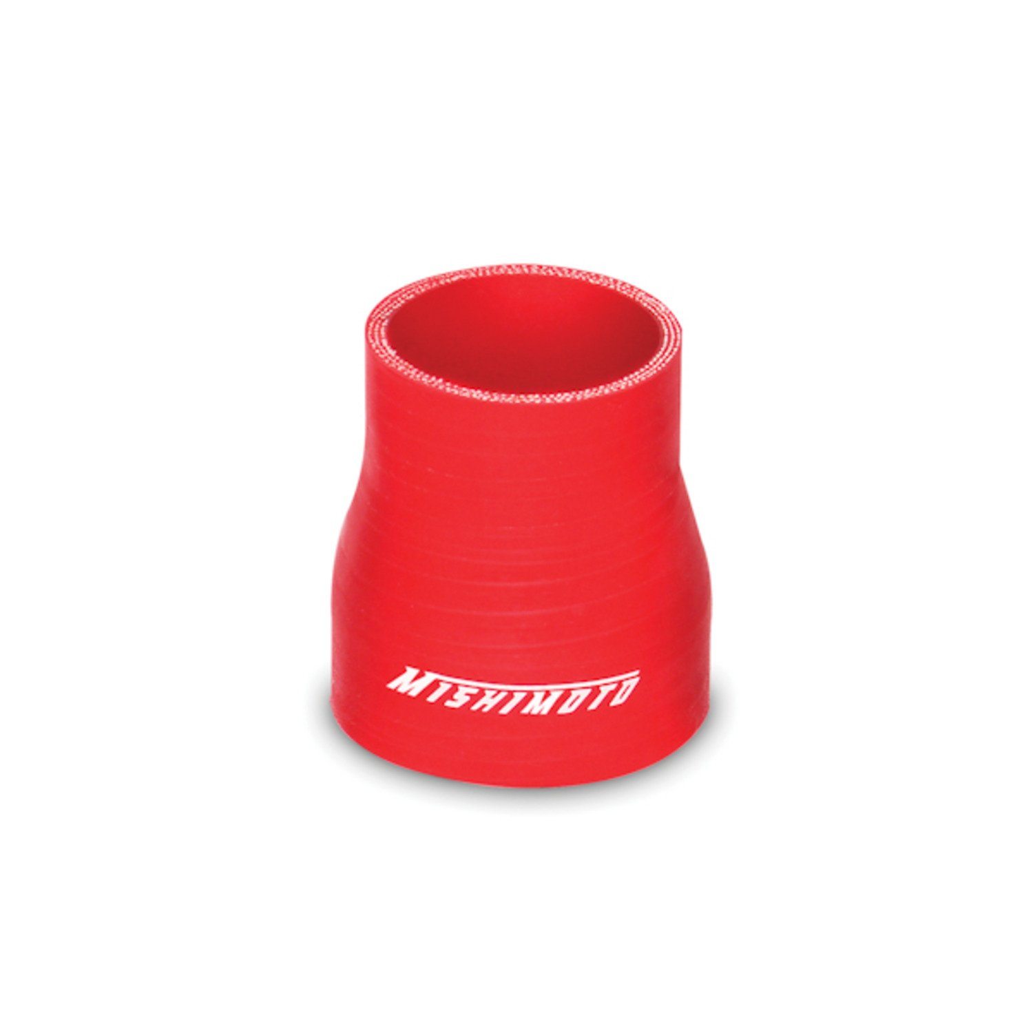 Red Mishimoto MMCP-25275RD 2.5 to 2.75 Silicone Transition Coupler