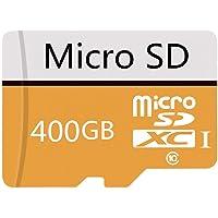Genericca - Tarjeta micro SD (400 GB, clase 10, clase 10, con adaptador y adaptador
