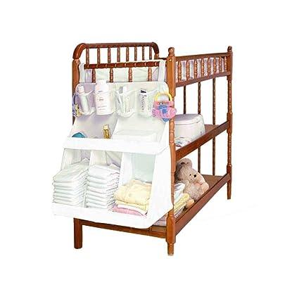 Mengonee Pañales de bebé impermeable Organizador sala de recién nacidos de noche Cama bolsa de almacenamiento