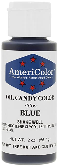 Amazon.com: Americolor Oil Candy Food Coloring, 2.0-Ounce, Blue ...