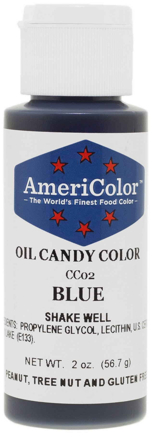 Americolor Candy Oil - BLUE 2 OUNCE CANDY OIL COLOR