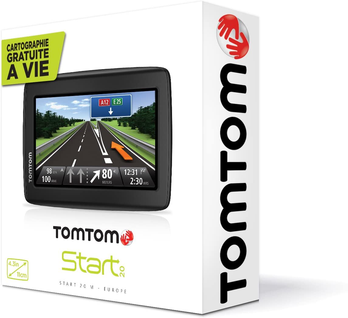 Tomtom Start 25 M Europe Satellite Navigation System Amazon Co Uk Electronics