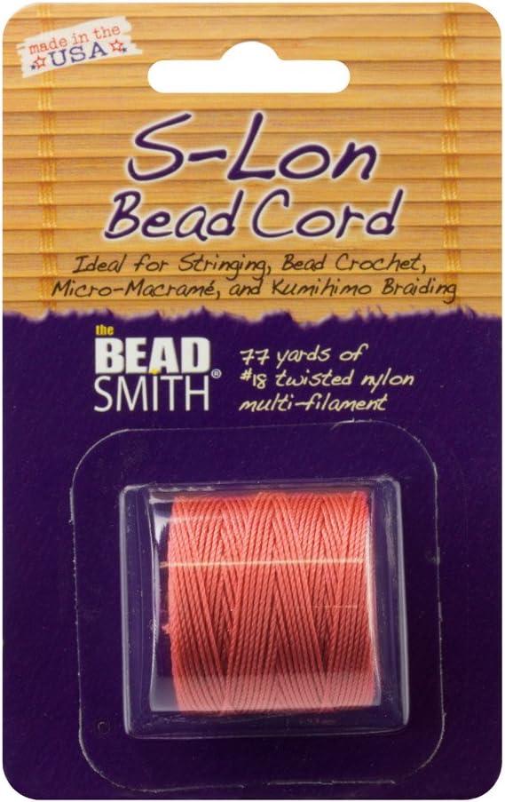 Extra Heavy #18 Twisted Nylon Cord S-LON Bead Cord 4 Color Mix MARINE