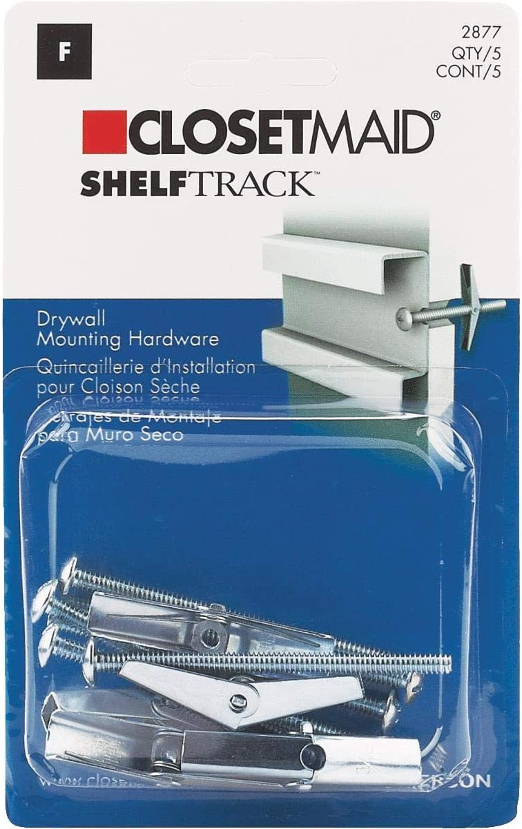 ShelfTrack Hang Track Mounting Hardware