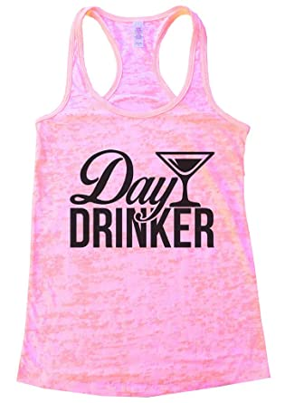 "3ebd1aec82b4c Womens Party Beer Drinking Tank Top ""Day Drinker"" Wine Gift - Funny Threadz  Small"