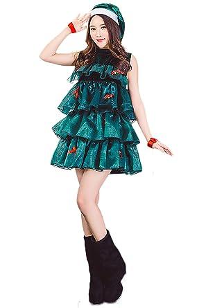 Amazon.com: Hacos - Vestido para mujer, diseño de árbol de ...