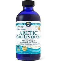 Nordic Naturals Arctic Cod Liver Oil Orange Flavour, 237ml