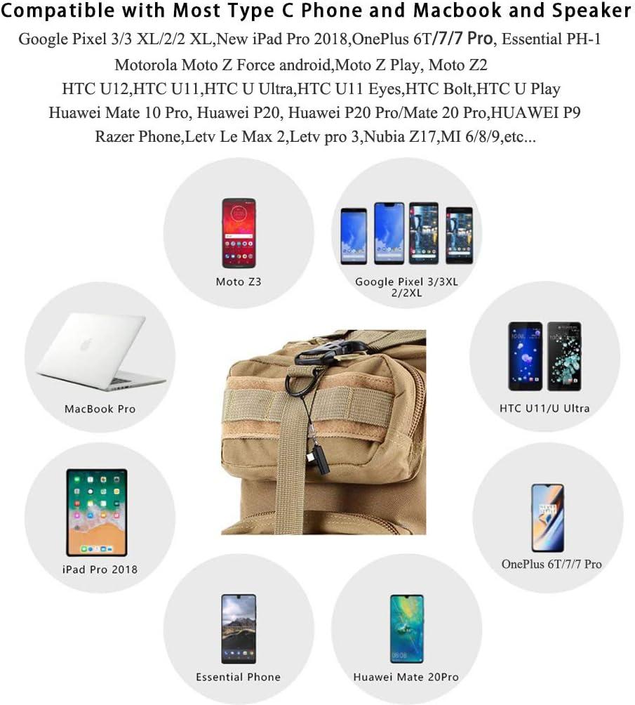 Moto Xiaomi Aproo Mini USB C to 3.5mm Headphone Adapter for Galaxy Note 10//10+ iPad//Macbook Pro USB C to 3.5mm Audio Adapter Google Pixel 4 4XL 3 3XL 2 2XL,OnePlus 7T 7T Pro 6T 7 7 Pro Essential