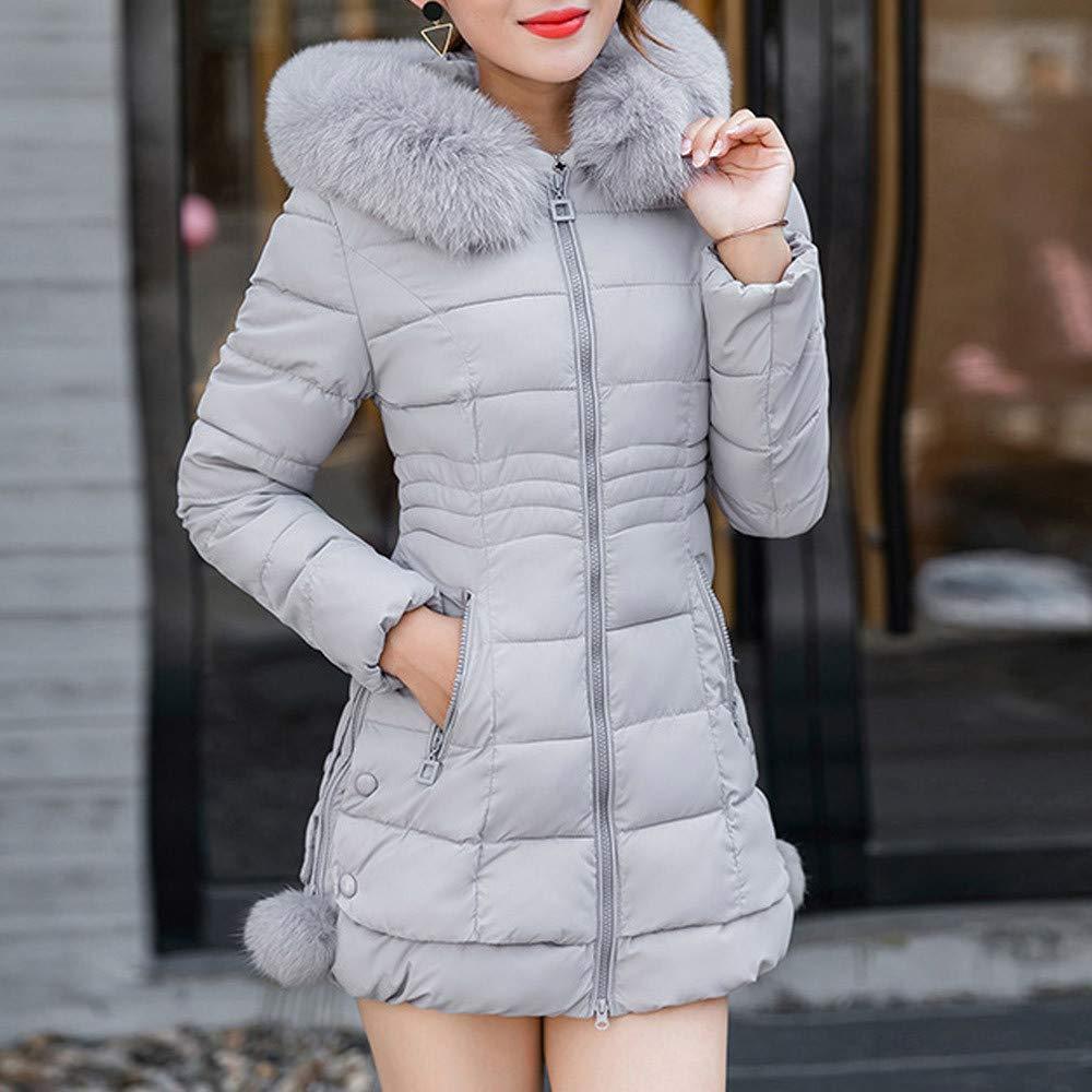 HULKY Vendita Caldo Cappotto da Donna,Cappotti Invernali Addensare Aggiungi Velluto Casual Eleganti Taglie Forti Giacche Felpe Trench Giacca Down