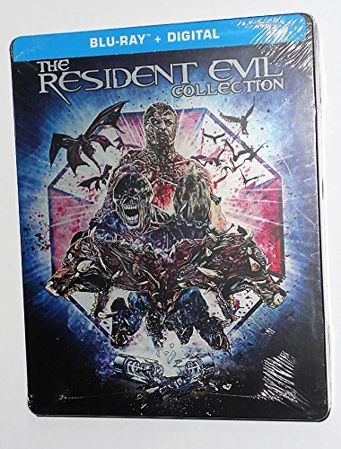 (The Resident Evil 6-Movie Collection (Steelbook) [Blu-ray])