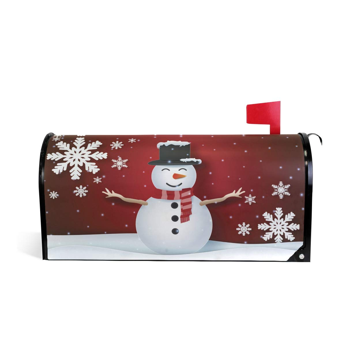 WOOR Winter Magnetic Mailbox Cover Standard Size-18x 20.8