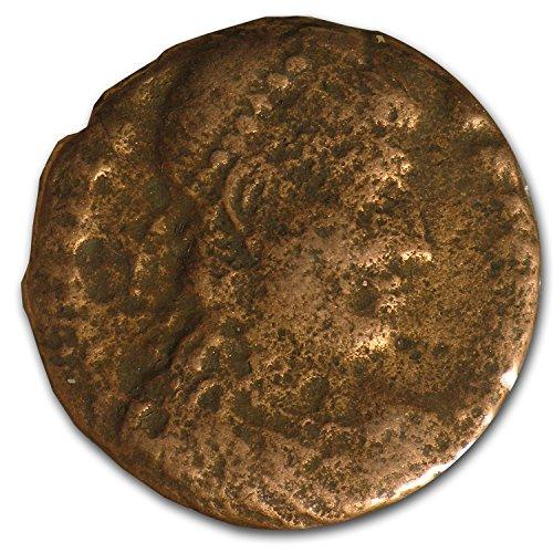 400 IT Roman Bronze Coins (4th-5th Century AD) Bronze Very Fine (Ancient Coins Roman Silver)