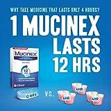 Chest Congestion, Mucinex Maximum Strength 12