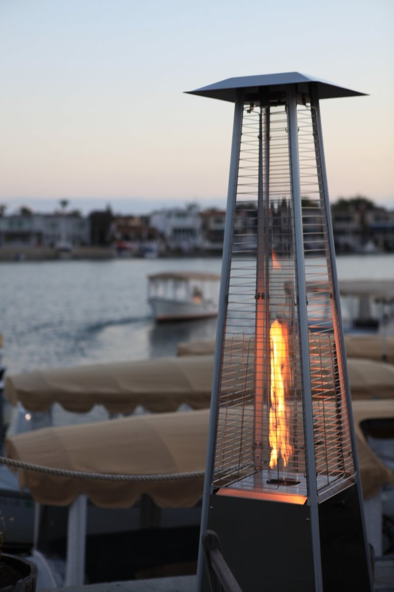 Amazon.com : Torch Fire Patio Heater - Stainless Steel Outdoor Flame Heater : Portable Outdoor Heating : Garden & Outdoor