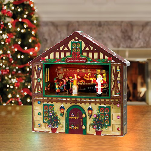 Mr. Christmas Animated Musical Advent House by Mr. Christmas (Image #1)