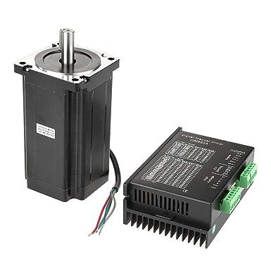 86HS156-6204A14-B34 Motor paso a paso + DM860A Controlador de ...