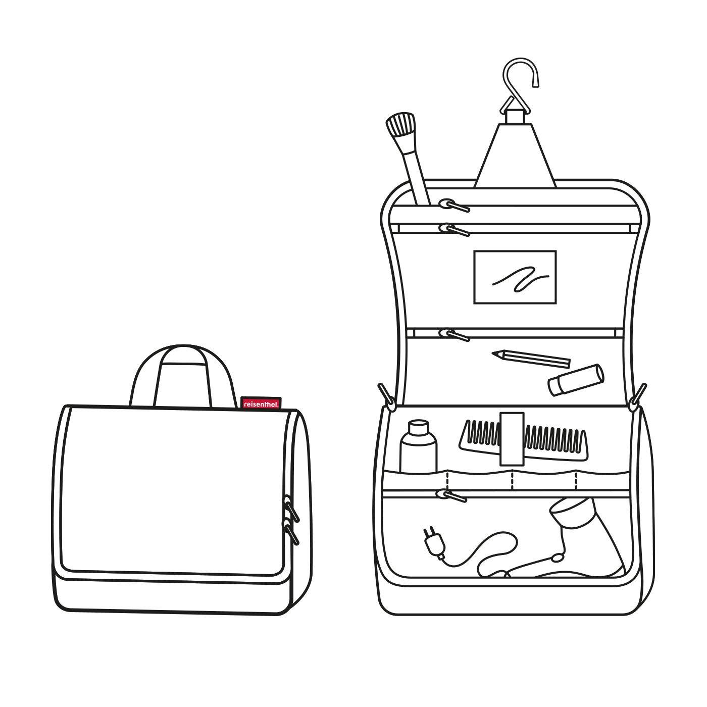 reisenthel Toiletbag XL, Hanging Travel Toiletry Organizer, Dots by reisenthel (Image #5)