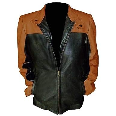78b008568 Spazeup Law & Order SVU Mariska Hargitay Womens Leather Jacket (X ...