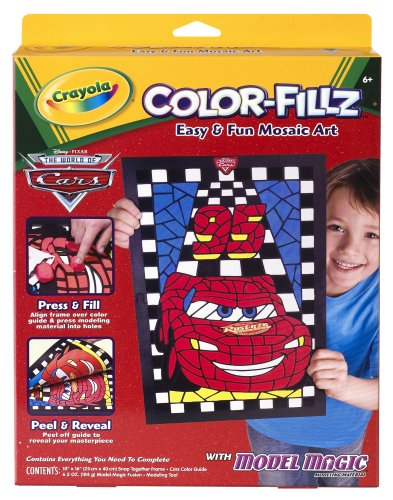 (Crayola Model Magic Fusion Mosaics Disney Cars )