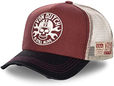 Von Dutch Rag is Still Alive - Gorra unisex granate Talla única ...