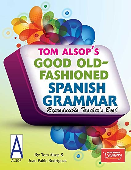 Amazon.com : Good Old-Fashioned Spanish Grammar Teachers Binder : Round Ring Binders : Office Products