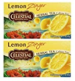Celestial Seasonings SYNCHKG066353 UPC Herbal Tea, Lemon Zinger, (2 Pack) For Sale