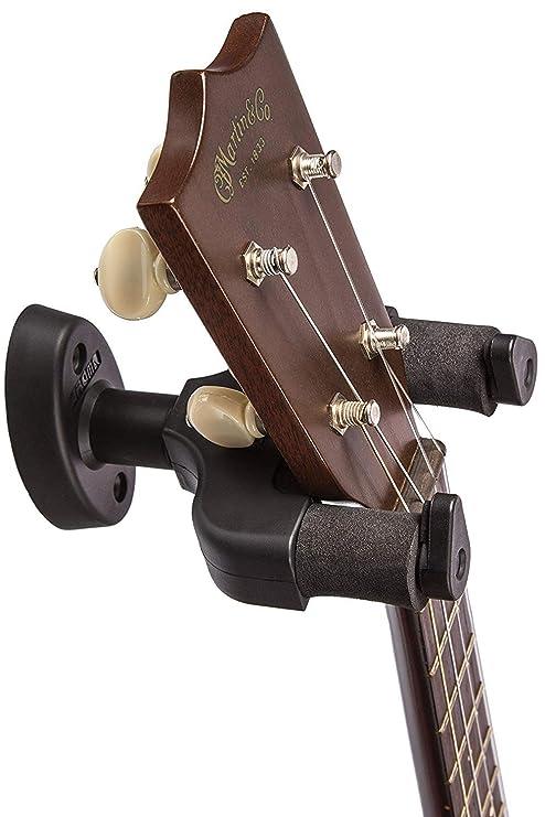 Home and Studio - Soporte de pared para guitarra Fácil de instalar, ahorra espacio, ...