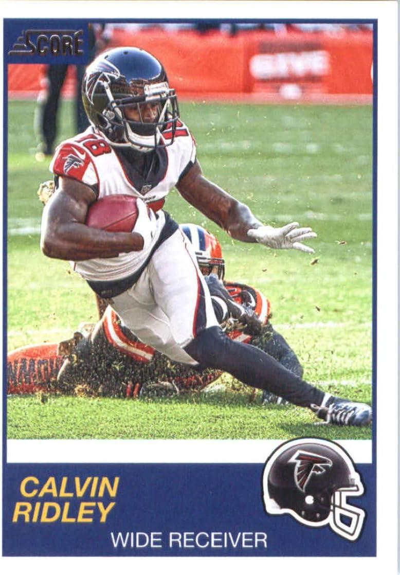 Amazon Com 2019 Score 248 Calvin Ridley Falcons Nfl Football Card Nm Mt Collectibles Fine Art