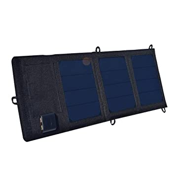 Amazon.com: Haga Folding Foldable Waterproof Solar Panel 6v ...
