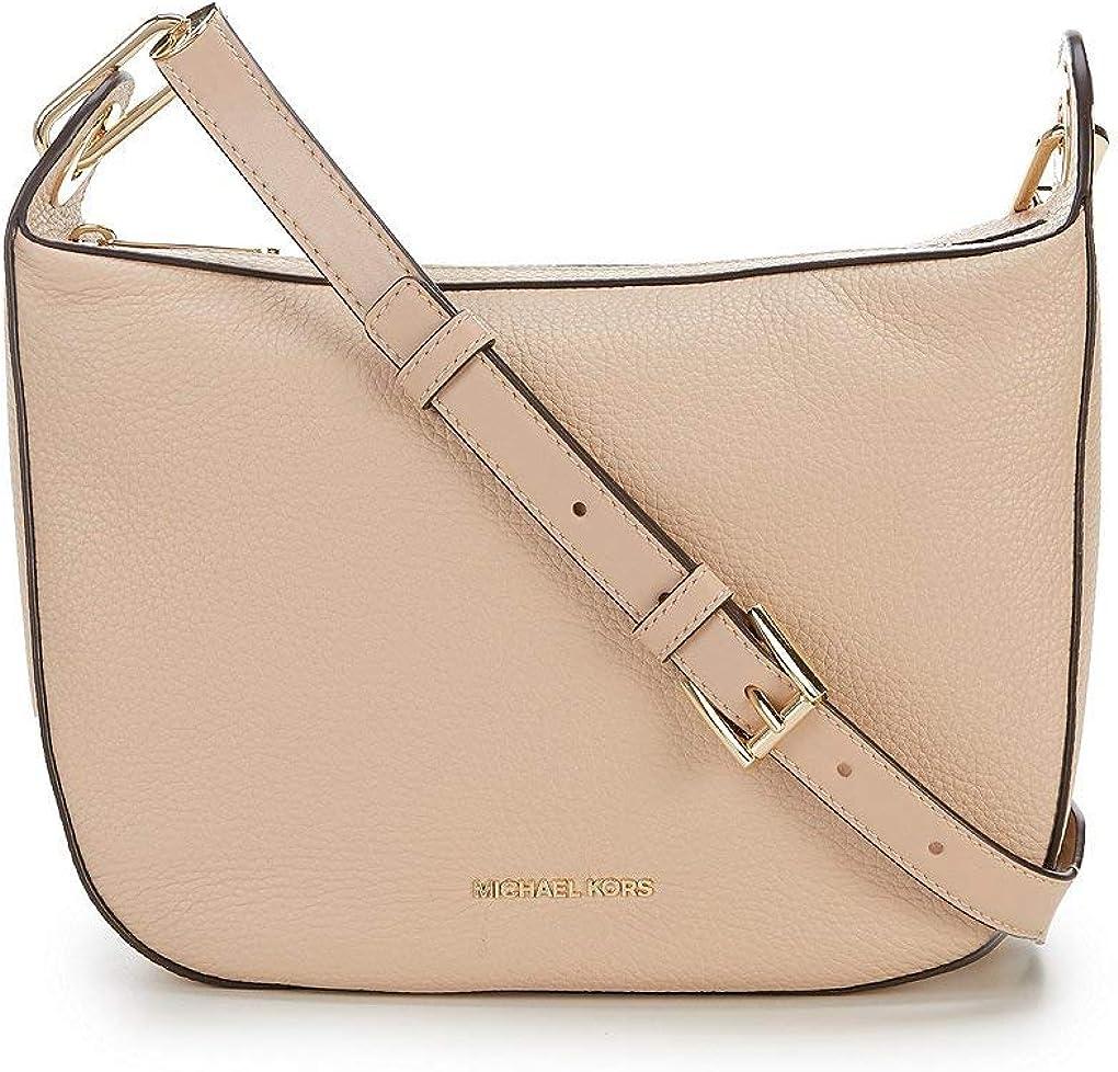 Michael Kors Barlow Medium Messenger Bag – Oyster