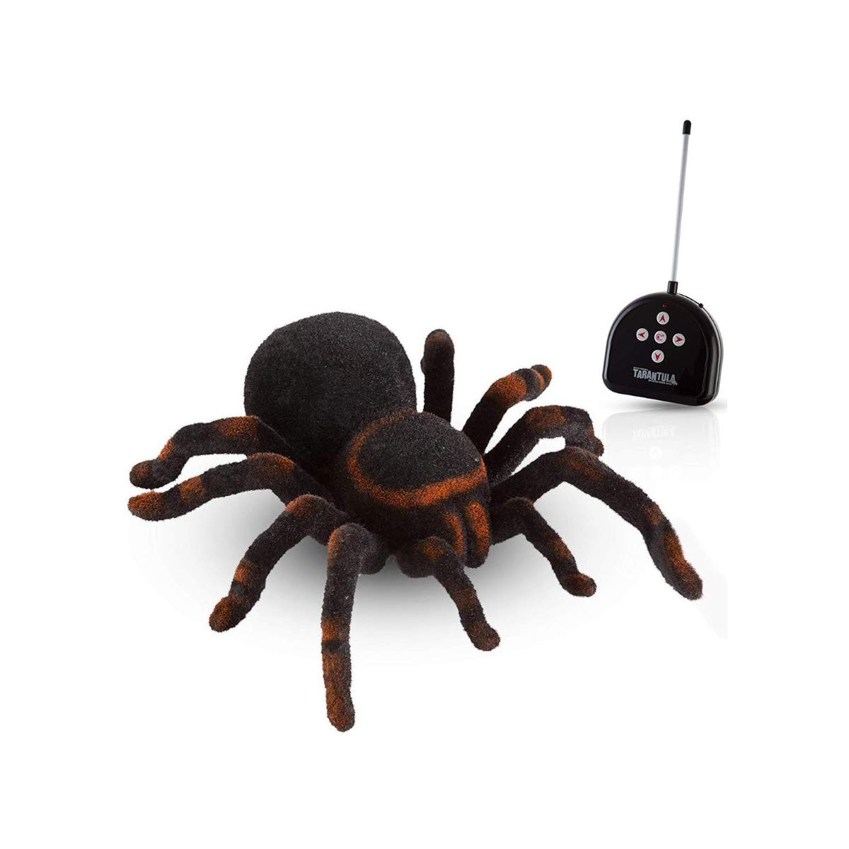 Cute Sunlight Wireless Remote Control Spider Toy Realistic 8 Inch Tarantula Animal Figures Funny Prank Joke Scare Gag Gifts for Halloween Christmas Party Decor Birthdays Holidays April Fool Pranks by Cute Sunlight