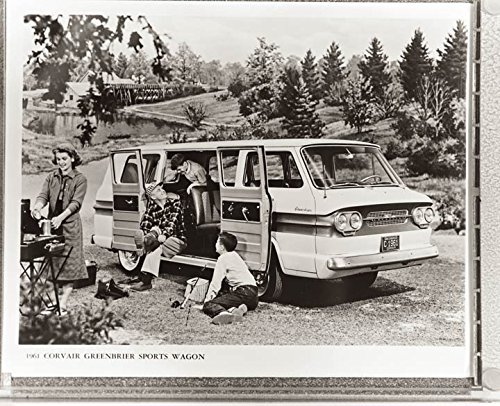 1961 Chevrolet Corvair Greenbriar Van Factory Photo
