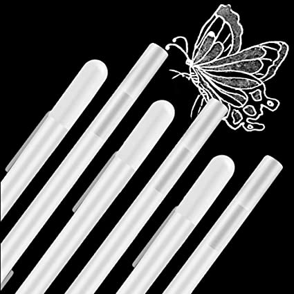 Eokeey 8 St/ück Wei/ßer Gelstift zum Zeichnen Highlights,0.8mm Feine Spitze Fineliner White Gel Pen,Gelstift Weiss zum Skizzieren,Kunst Design Supplies Wei/ßer Gelstift