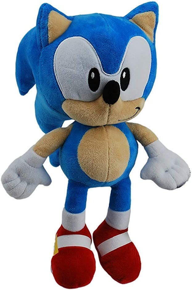 Sonic The Hedgehog 28cm SOFT TOY GENUINE LICENSED**