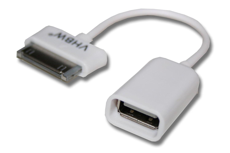 vhbw USB OTG (on The go) Cable Adaptador para Samsung Galaxy ...