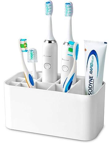 Toothbrush Holders: Home & Kitchen: Amazon.co.uk