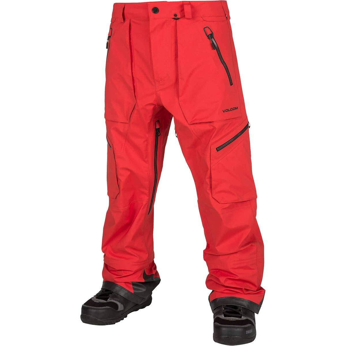 (ボルコム) Volcom Guch Stretch Gore-Tex Pant メンズ スノーボード ウェア ビブ パンツFire 赤 [並行輸入品] Fire 赤 日本サイズ XL相当 (US XL)