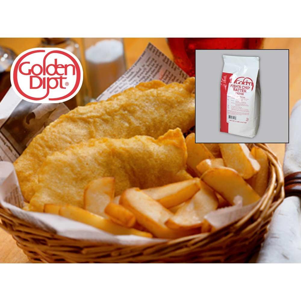 Fish Natural Chip Batter 6 Case 5 Pound